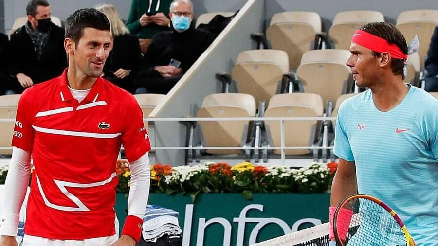 Nadal and Djokovic will face each other for the 58th time.