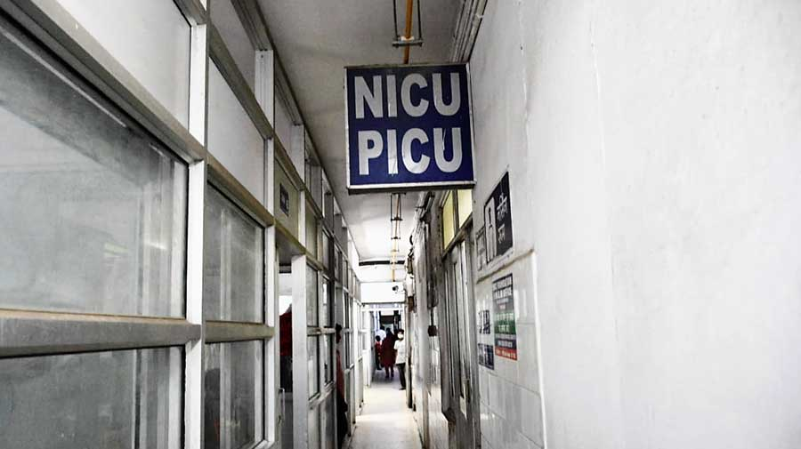 NICU and PICU wards in government-owned health centre in the Kolhan region at the MGM Medical College and Hospital at Jamshedpur