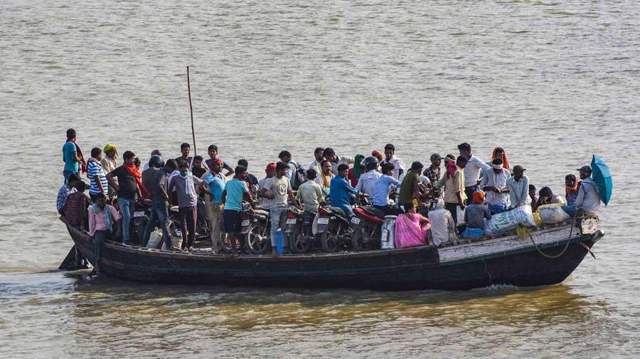 Ganga samples collected for virus test in Bihar
