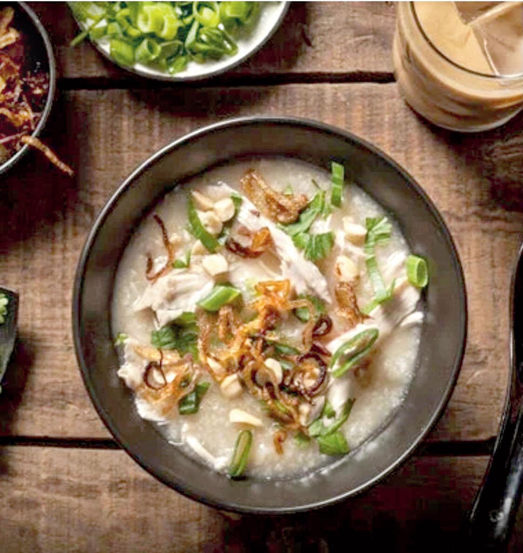 Chao Ga (Chicken Rice Porridge)