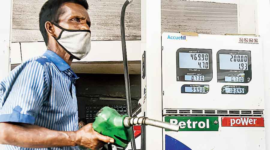 On Saturday, a litre of petrol sold at Rs 100.48 in Darjeeling, followed by Rs 100.10 in Alipurduar and Rs 100.09 in Cooch Behar.