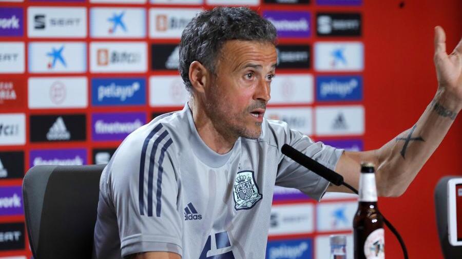 Luis Enrique.