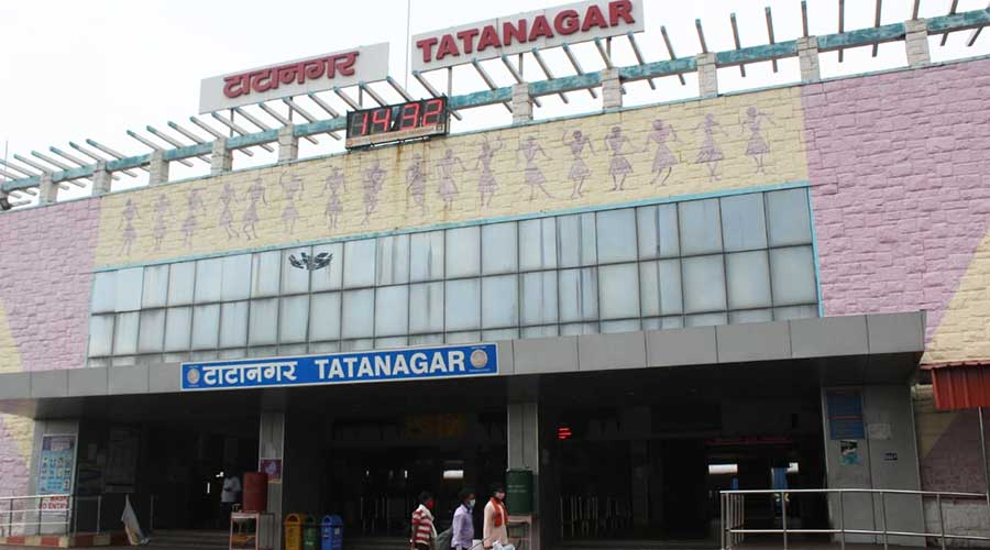 The Tatanagar railway station.