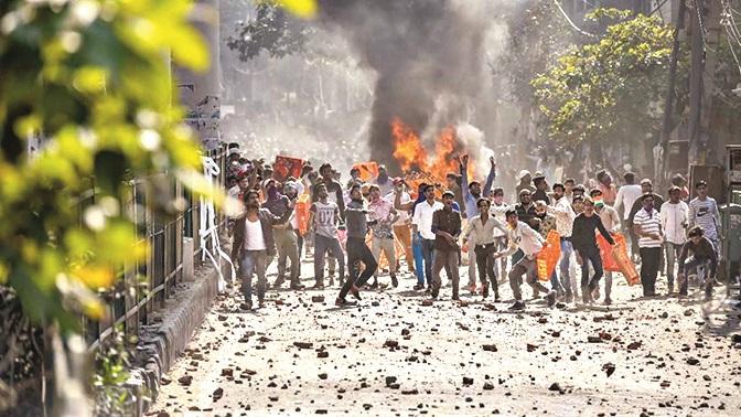 Delhi riots.