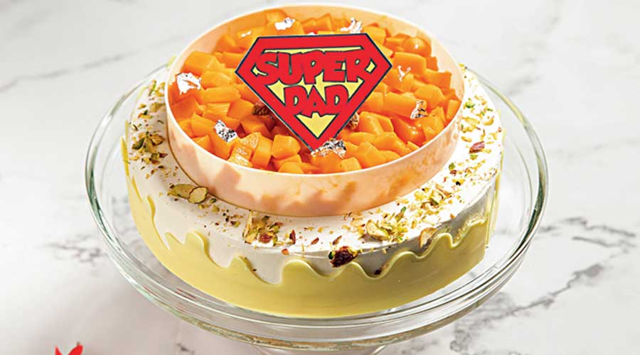 The Mango cake.