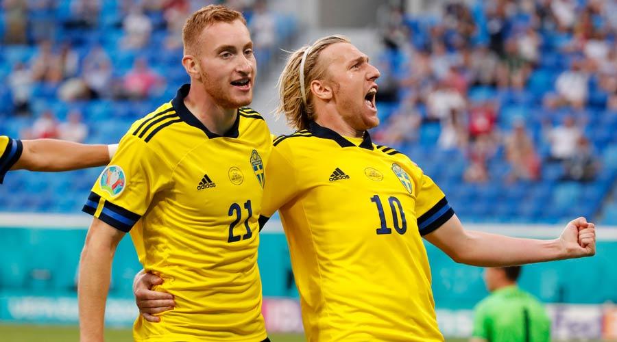 Emil Forsberg has now scored 3 goals for Sweden at Euro 2020.