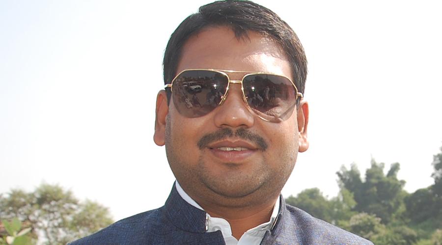 Former Jharia MLA Sanjeev Singh.