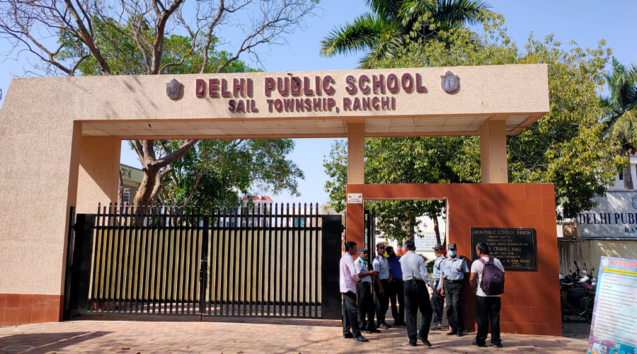 DPS school at SAIL Colony in Ranchi on Monday.