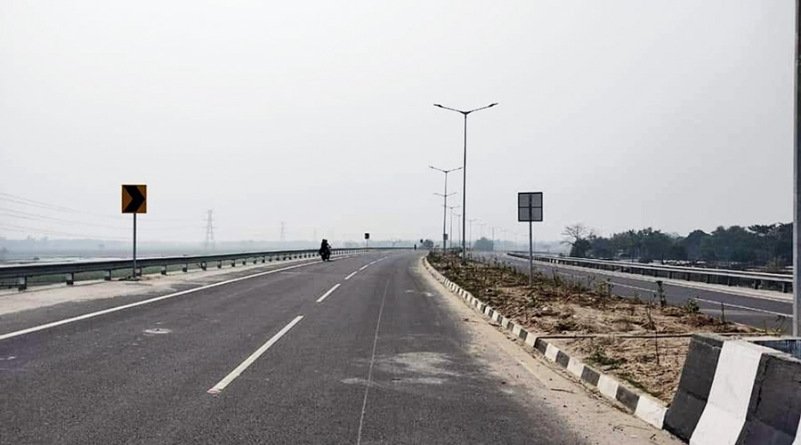 The Islampur bypass along NH27.