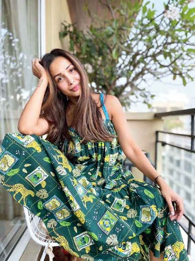 Malaika Arora wearing Dandelion