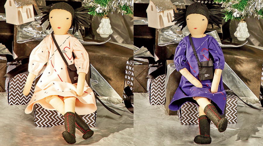 The handmade dolls are priced at Rs 1,999 each