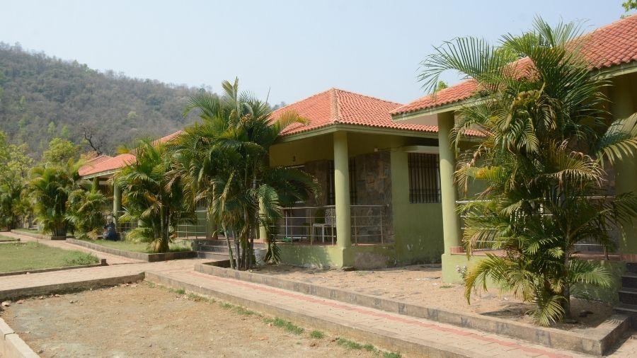 The cottages at Makulakocha inside Dalma wildlife sanctuary near Jamshedpur.