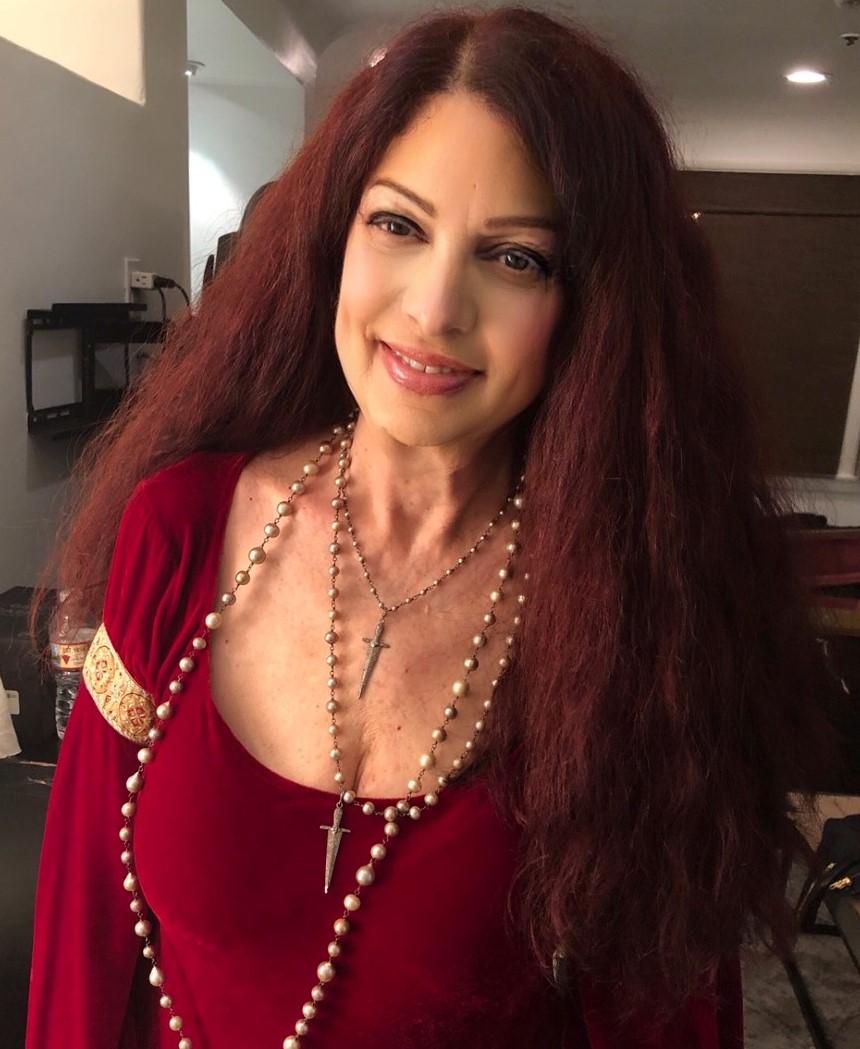 Scarlet Rivera, sometime in February 2020.