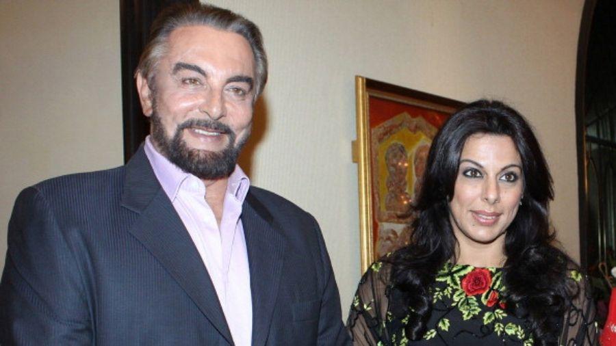 Kabir and Pooja Bedi