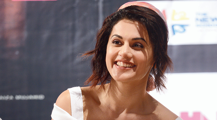 Bollywood actor Taapsee mocks 'memory of 2013' - Telegraph India