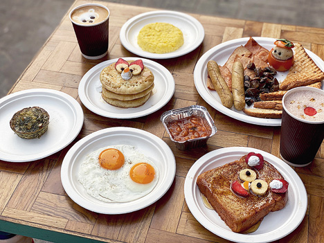 The new all-day breakfast at Mrs. Magpie.