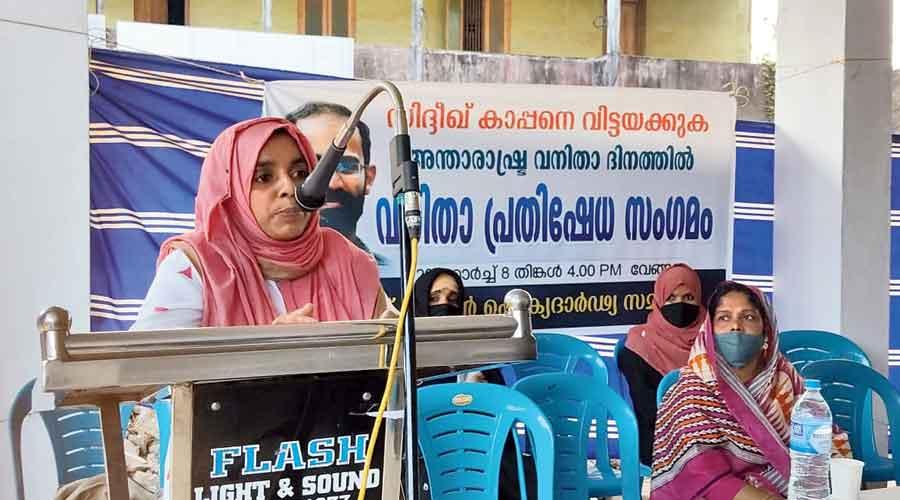 Women demand Kappan's release