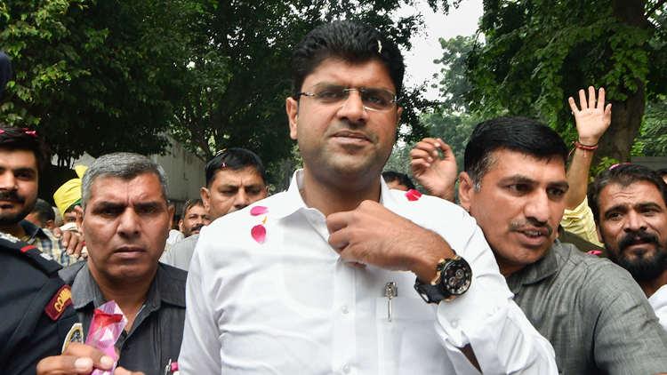 Deputy chief minister of Haryana, Dushyant Chautala
