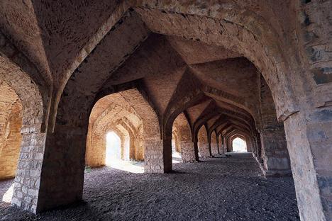Inside Roopmati Pavilion