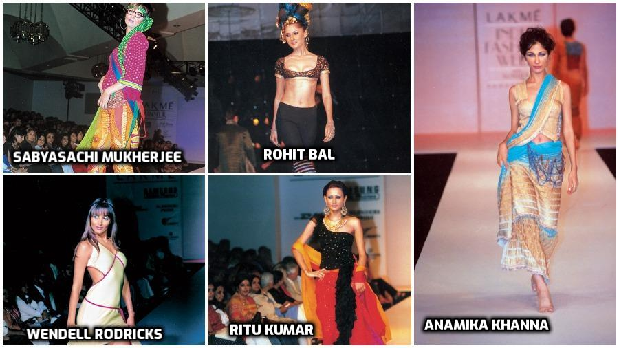 Lakme India Fashion Week, from the telegraph archives...
