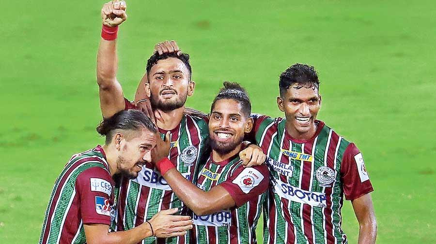 ATK Mohun Bagan's second goal on Tuesday.