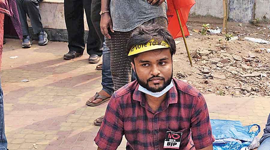 Amartya Basu  Student of Ambedkar  University