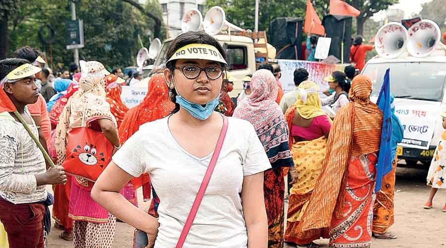 Sayantika Dutta Student of West Bengal State University