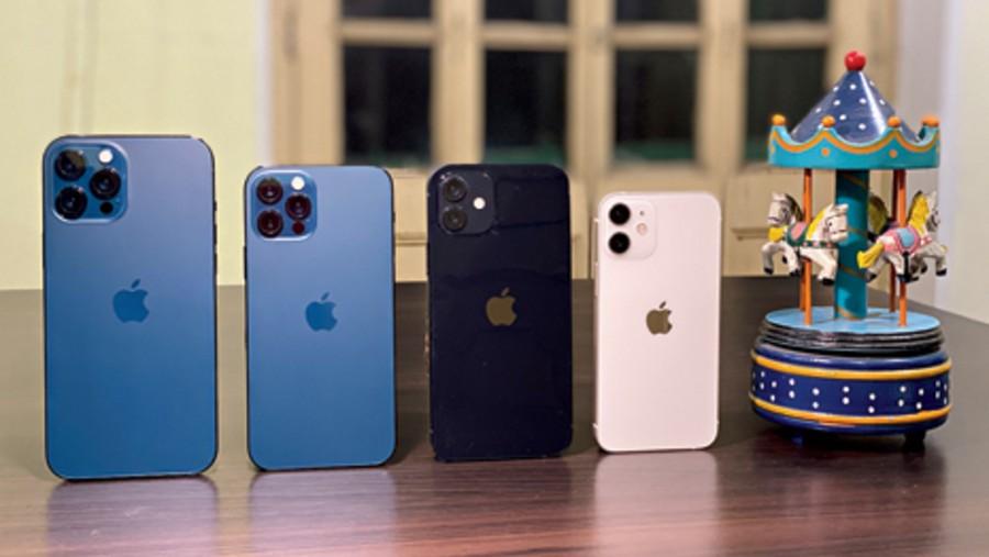 Apple iPhone 12 series.