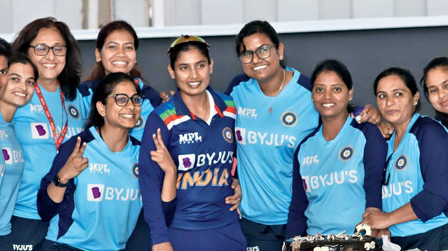India captain Mithali Raj after the match in Lucknow on Friday.