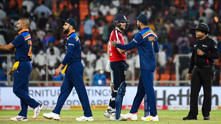 """The ICC, in its """"Rules and Regulations"""" page, has updated the ratings of all recent games, and the pitch at the Motera Stadium was rated """"average"""" for that pink-ball Test and """"good"""" for the final match."""