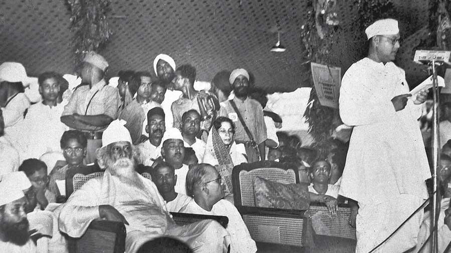 Tagore & Bose: unusual ties