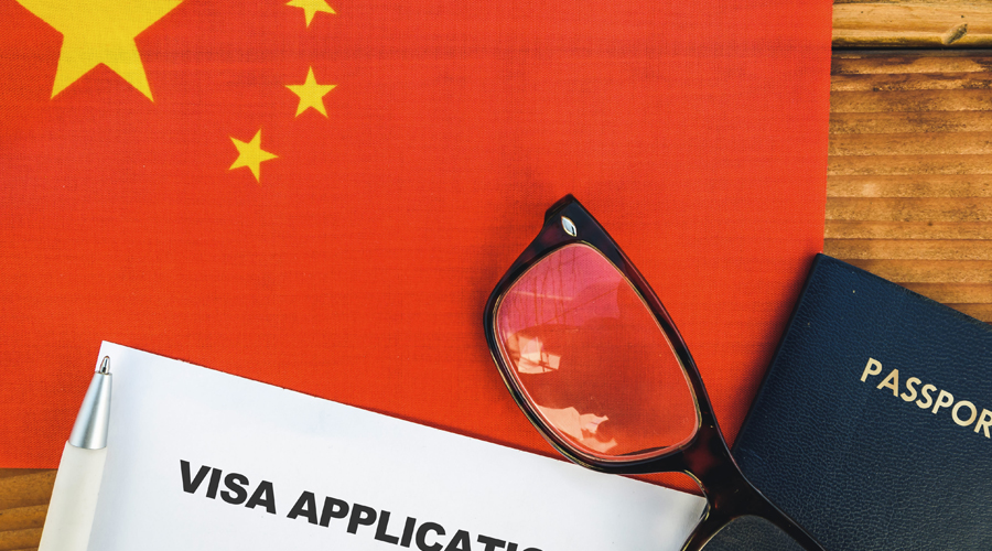 Those arriving in China will still have to face a quarantine period of up to three weeks.
