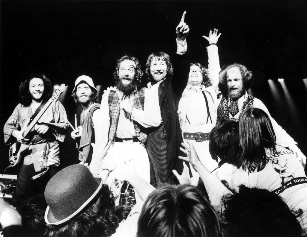Jethro Tull circa 1977