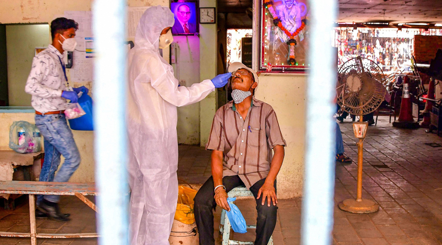 According to the ICMR, 25,14, 39,598 samples have been tested up to April 6 with 12,08, 339 samples being tested on Tuesday.