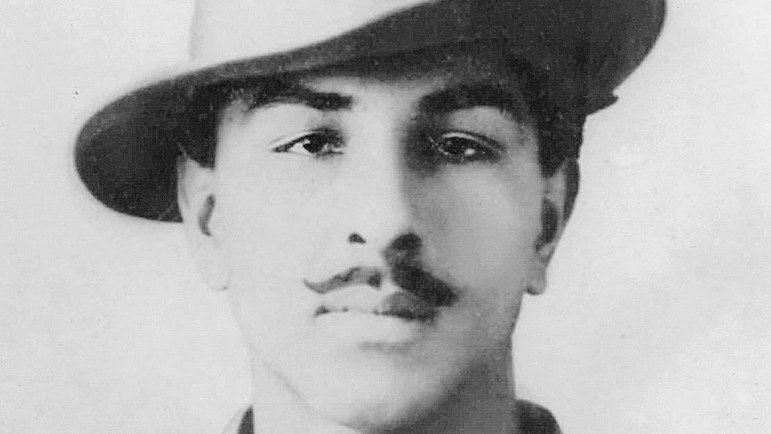 Photograph of Bhagat Singh taken in 1929 - when he was 21 years old.