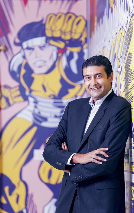 Sharad Devarajan, co-founder and CEO of Graphic India