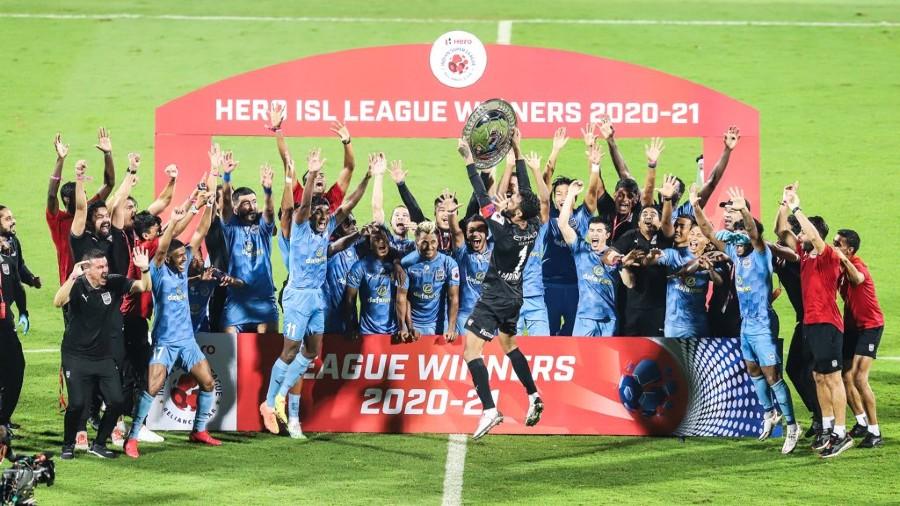 Mumbai City FC, the champions of ISL 2020/21