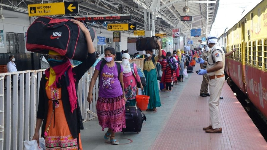 Ranchi railway station.