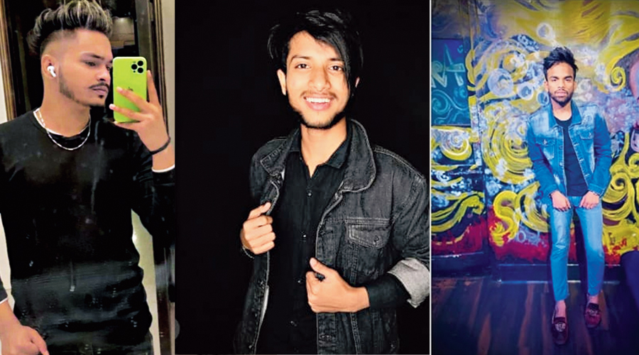 (From left) Samir Ahmed, Mohammad Akil and Mohammad Rashidur Rahman who died in the accident on Thursday