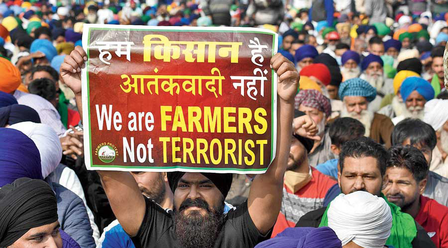 BJP leaders have faced repeated protests in Punjab and Haryana and villages in western Uttar Pradesh, where they are seen as anti-farmer.