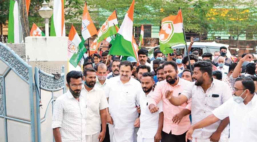 Congress's K Muraleedharan campaign