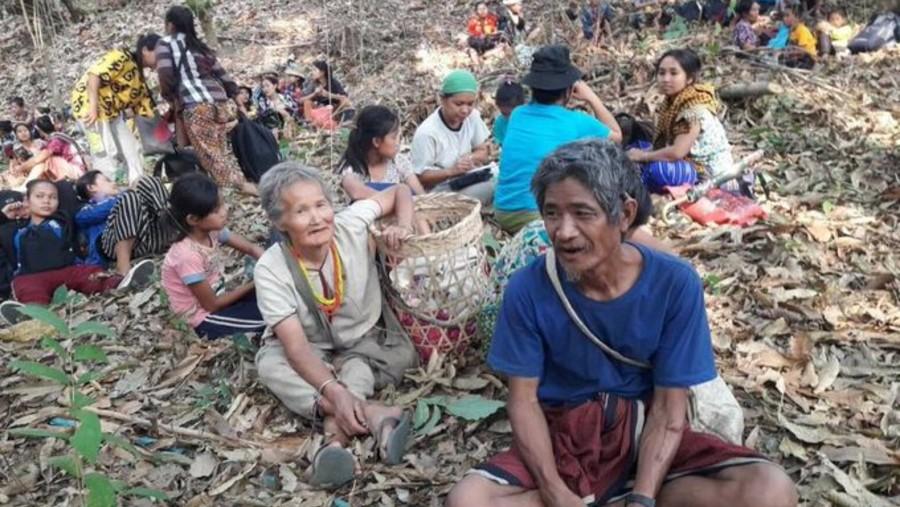Karen refugees sent back by Thailand authorities
