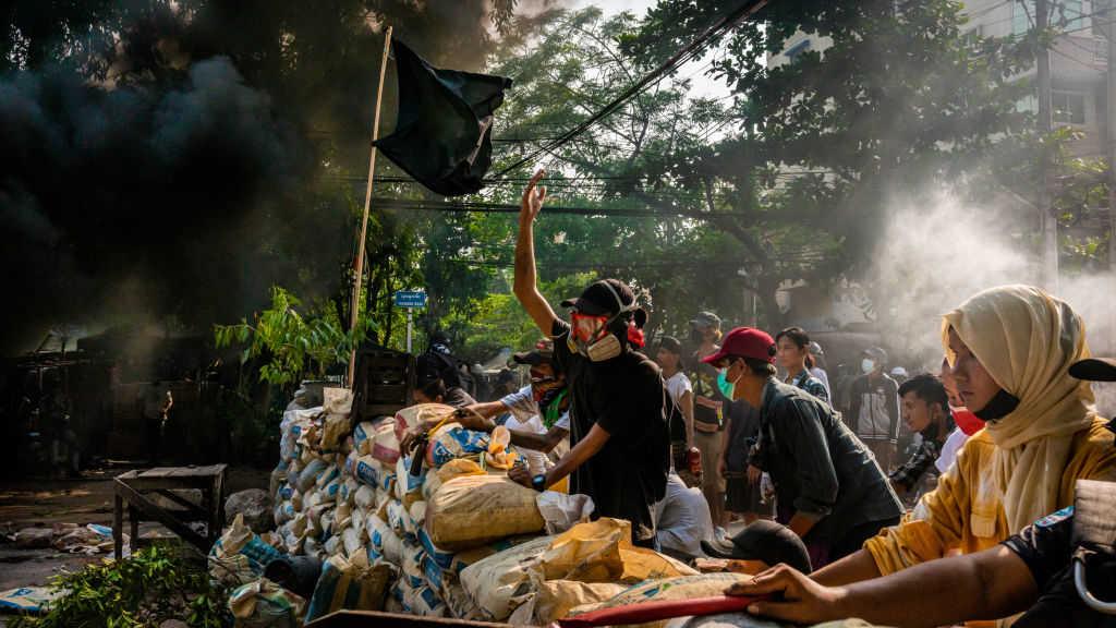 Bloodbath: Myanmar military coup