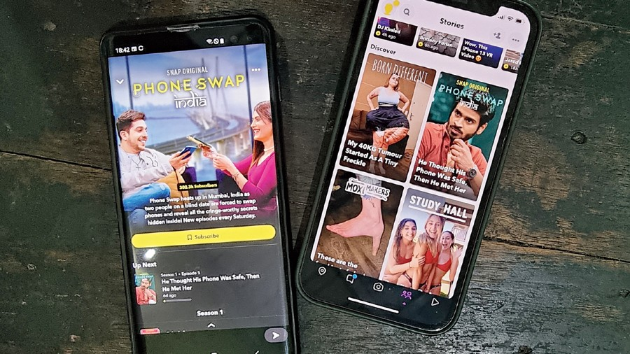 Snapchat has drastically improved its Original line-up and now has an Indian show called Phone Swap.