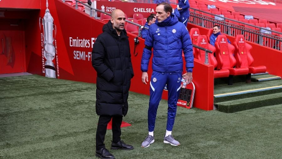 Pep Guardiola and Thomas Tuchel.