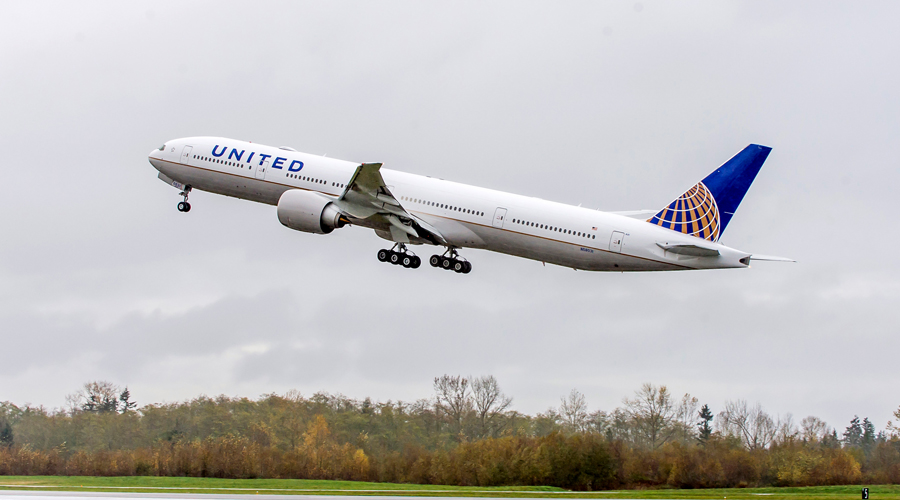 United is the only US carrier flying to India.