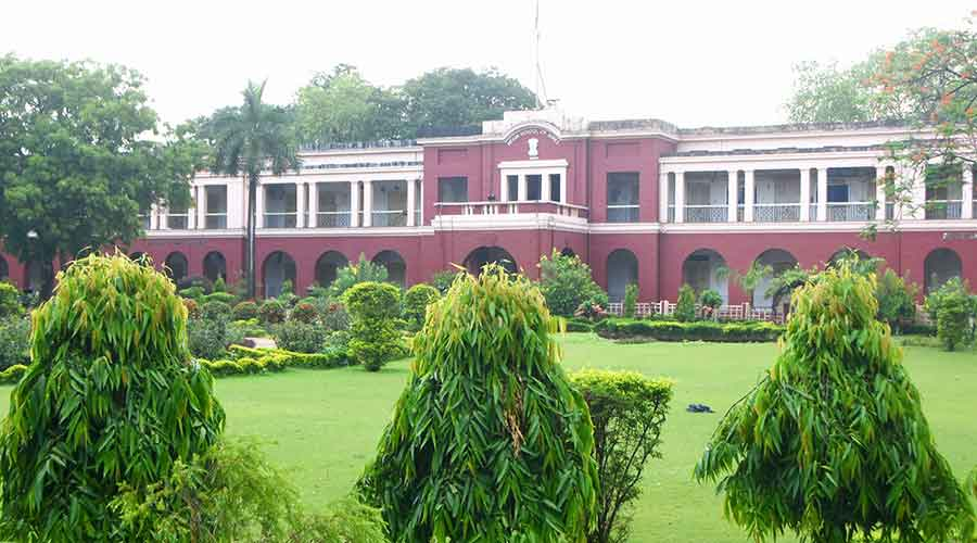The Heritage Building of IIT (ISM) in Dhanbad on Sunday.