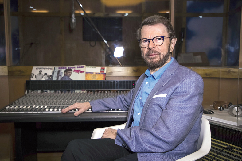 """Abba member Bjorn Ulvaeus says there are good songwriters even today but now it's more about """"how a click is calculated"""""""