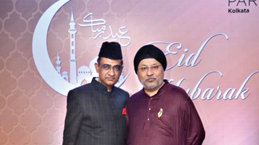 Imran Zaki and the late Jasjit Singh had been hosting the Id dinner for the past many years