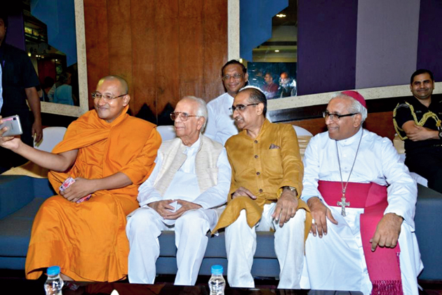 Religious leaders of different faiths have attended the Id get-together every year and spread the message of peace and universal brotherhood